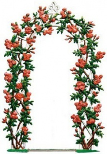 Rosenbogen zum Stellen