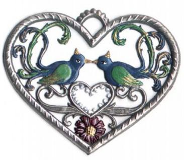 Herz mit Vögel klein