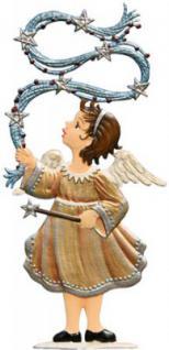 Engel mit Girlande zum Stellen
