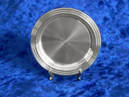 Zinn Untersetzer glatt 8cm