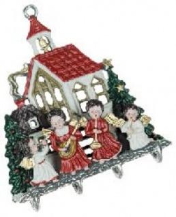 3D Kirche mit Engel