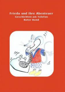 Buch Frieda und ihre Abenteuer rot