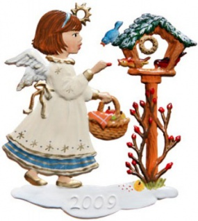 Engel mit Vogelhaus 2009
