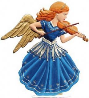 Engel 2011 mit Geige zum Stellen