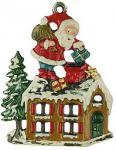 Nikolaus auf dem Dach