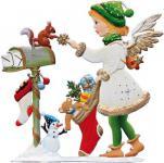 Engel 2015 mit Weihnachtsstrumpf zum Stellen
