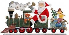 Nikolaus mit Zug zum Stellen