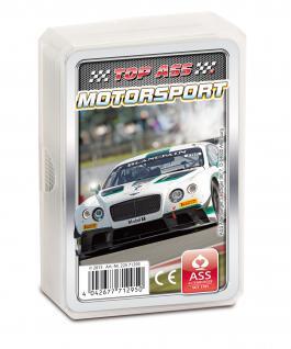 TOP ASS Quartett Motorsport 71295 - Kartenspiel ab 6 Jahre