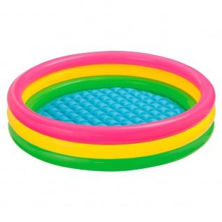 Intex 57412NP - Sunset Glow Kinder-Pool, 3-Ring, ø 114 x 25 cm