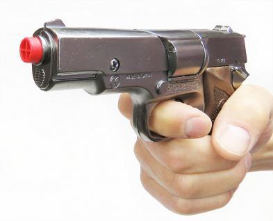 Gonher 125/0 - Pistole Astra Police 8-Schuss 19 cm, Zink Antik - Vorschau 2