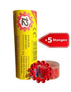 Sohni-Wicke 0240 - 12-Schuss Amorces Ringmunition 5 Stangen = 1200 Schuss - Vorschau 1
