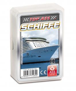 TOP ASS Quartett Schiffe 71282 - Kartenspiel ab 6 Jahre