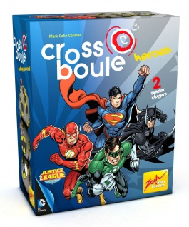 Zoch 601105089 - Crossboule Spiel - Heroes - Batman vs Superman