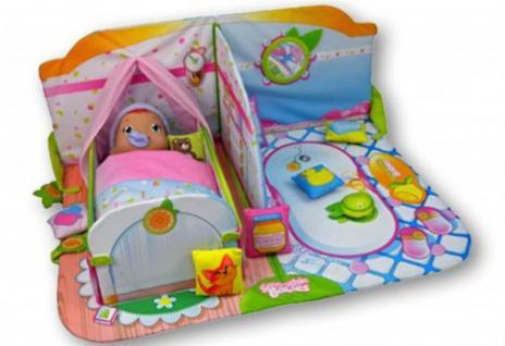 SMOOTHIE BABIES 113108 - Kinderzimmer mit Bett