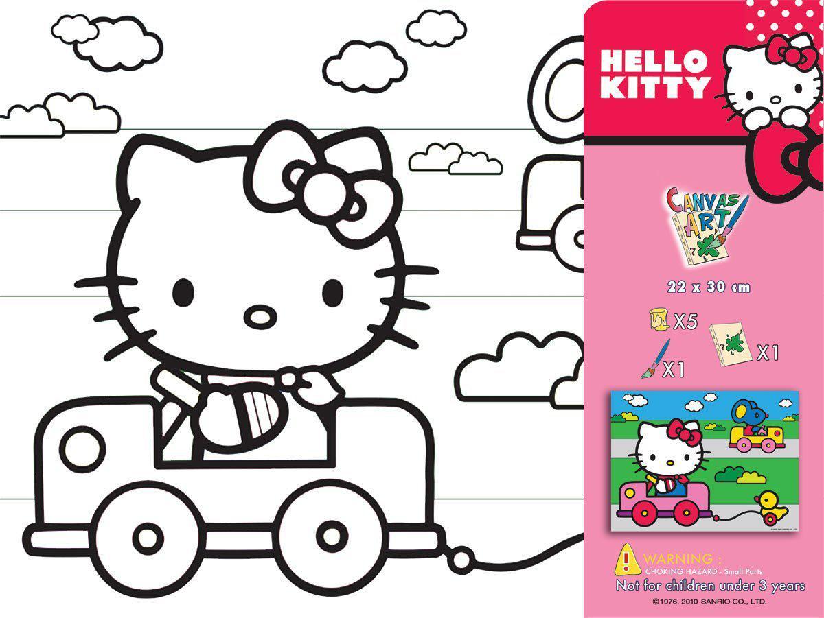 Schön Hallo Kitty Färbung In Fotos - Malvorlagen Von Tieren - ngadi.info