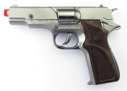Gonher 125/0 - Pistole Astra Police 8-Schuss 19 cm, Zink Antik - Vorschau 4