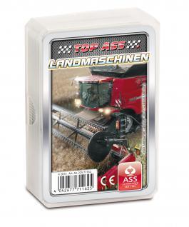 TOP ASS Quartett Landmaschinen 71162 - Kartenspiel ab 6 Jahre