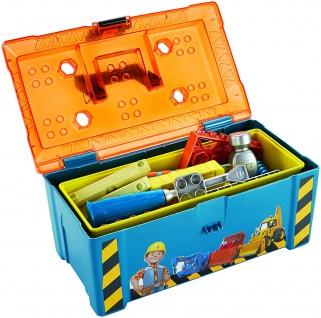 Fisher-Price Mattel DGY48 - Bob der Baumeister Bobs 2-in-1 Werkzeugkasten
