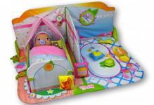 SMOOTHIE BABIES 113108 - Kinderzimmer, Bett & Puppe