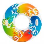 Intex 58202EU - Schwimmreifen Color mit Griff