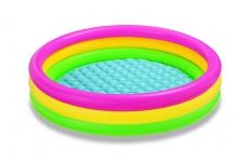 "Intex 58924NP - BabyPool 3-Ring ""Sunset Glow"" - 86 x 25 cm"