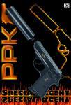 Sohni-Wicke 0472 - 25-Schuss Walther PPK Amorcespistole mit Schalldämpfer