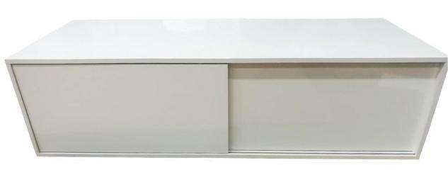 Lowboard Sideboard Kommode weiß Hochglanz Schiebetür 2521928