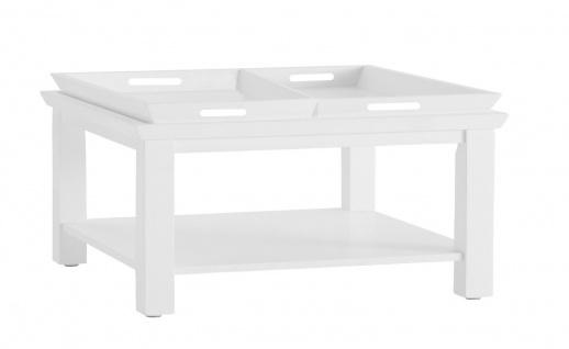 Tisch Beistelltisch Couchtisch Tablett weiß Tabletttisch Holz UVP399, 90€ 2520609 - Vorschau 2