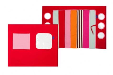 Spielvorhang Bettvorhang Hochbett Disco Flexa pink NEU & OVP 2521109