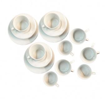 Geschirr Set Tasse Teller groß klein weiß Porzellan 36-teilig NEU & OVP 2521849