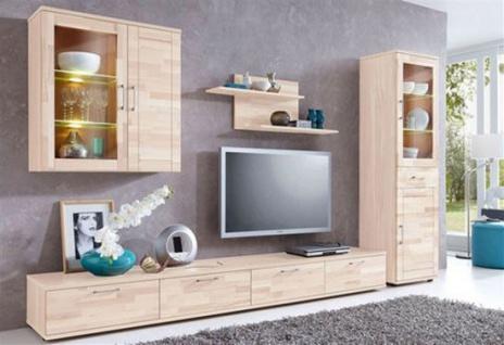 Wohnwand Wohnzimmer Landhausstil Kiefer FSC 5 Teilig NEU & OVP 2521744