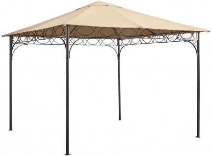 pavillon 3x3 dach ohne seitenteile polyester sand stahl uvp 129 99 7220364 kaufen bei felis. Black Bedroom Furniture Sets. Home Design Ideas