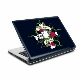"""Laptop Notebook Netbook Skin Sticker Folie Aufkleber Sheepworld 26x19 10"""" NEU"""