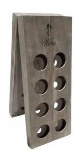 Weinflaschenhalter Flaschenhalter Flaschenständer Holz UVP 79, 99 NEU 2521910