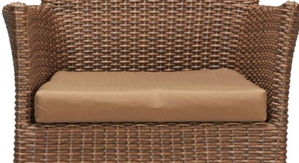 Sitzkissen Kissen Sitzpolster Polster Auflage hellbraun 7150561