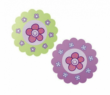 Bilder Bilder-Set Blumen grün rosa pink Flexa Girlie NEU & OVP 2521116