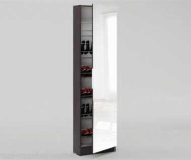 Schuhschrank Wandschuhschrank Süiegeltür Spiegel Fächer NEU&OVP UVP 199€ 2521844