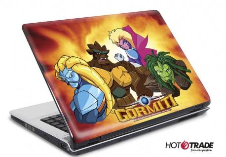 Laptop Notebook Netbook Skin Sticker Folie Schutz Aufkleber Gormiti 26x19