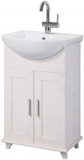 Waschtisch Waschplatz Waschbecken Schrank weiß 46cm UVP 139, 99€ 7100623