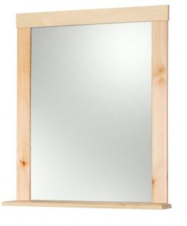 spiegel badspiegel h ngespiegel holzspiegel ablage kiefer. Black Bedroom Furniture Sets. Home Design Ideas