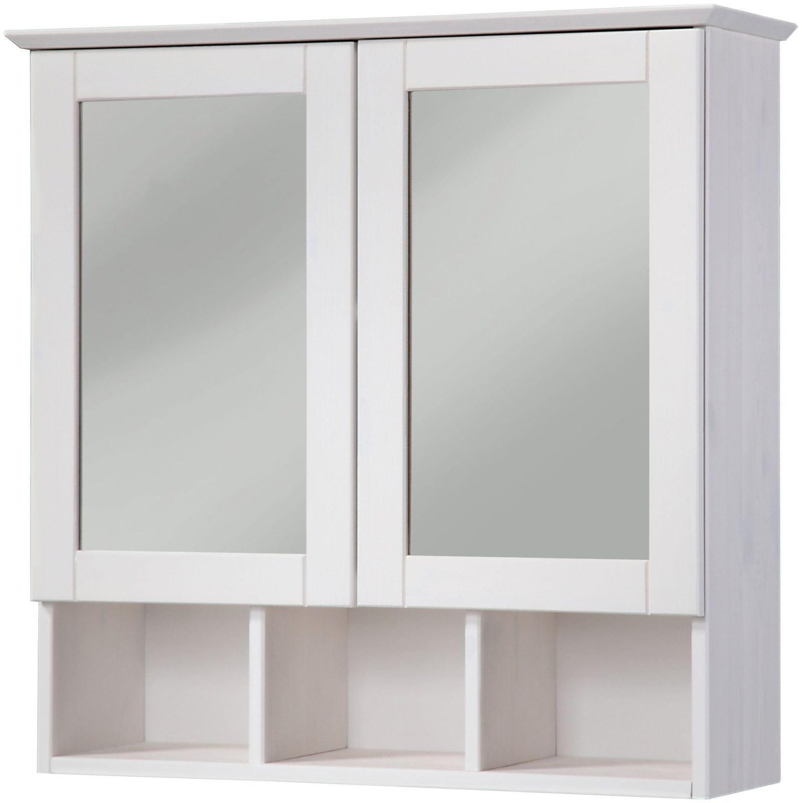 Spiegelschrank Badschrank Spiegel Hängeschrank weiß UVP 79, 99 ...
