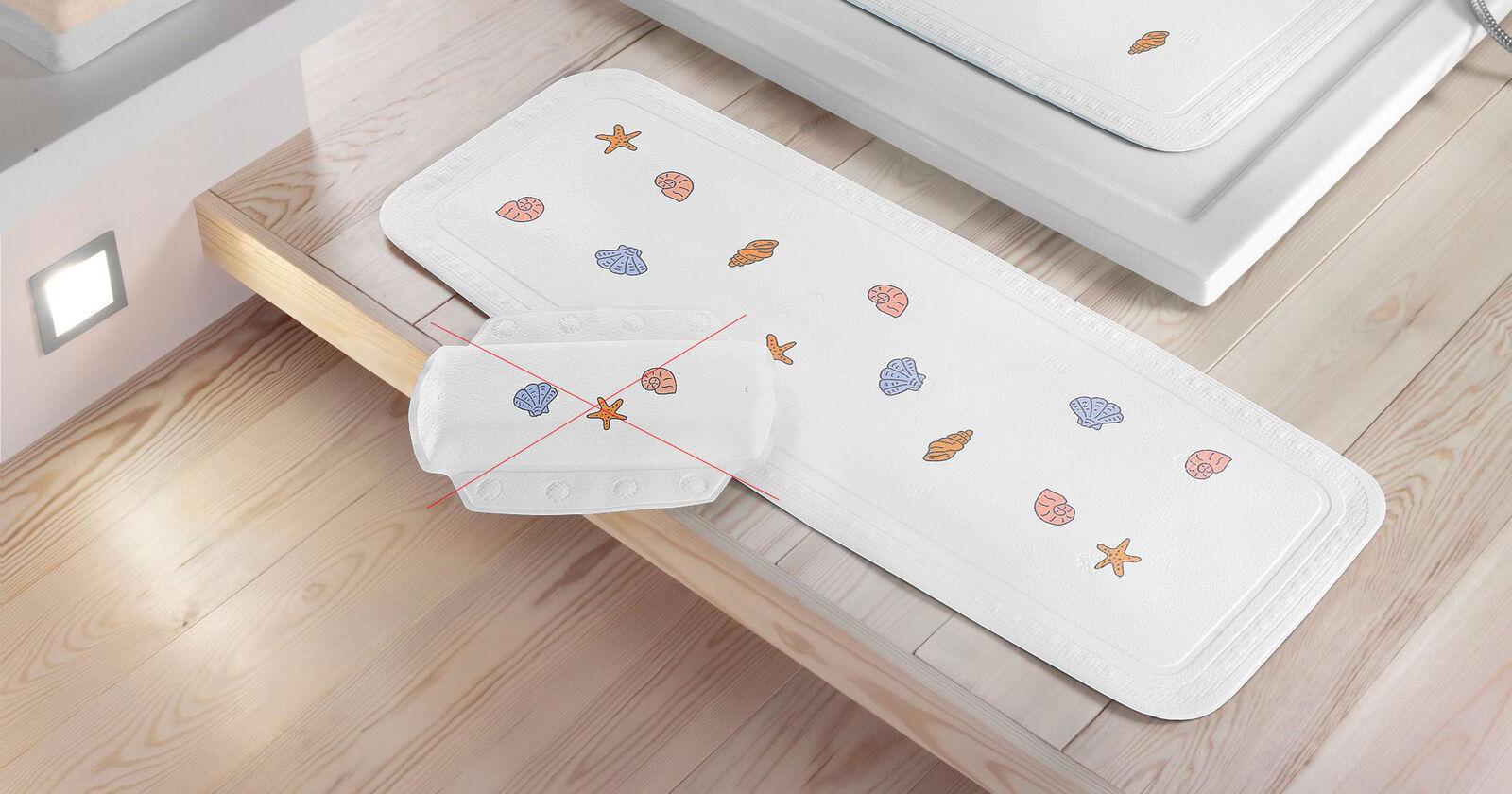 wanneneinlage einlage badewanne anti rutsch teppich beach uvp 21 99 7240279 kaufen bei felis. Black Bedroom Furniture Sets. Home Design Ideas