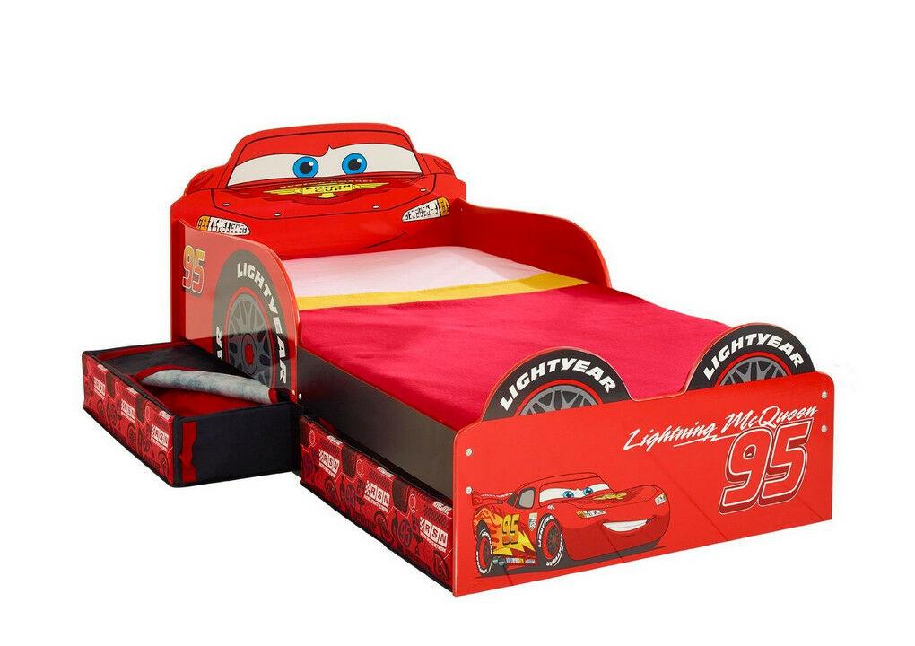 Kinderbett Bett Cars Disney Auto inkl. Matratze 140x70 NEU 2521874 ...