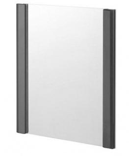 Spiegel Badspiegel Spiegelglas Rahmen Pearl anthrazit 7100084