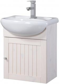 Waschtisch Waschplatz Waschbecken Schrank weiß 45cm UVP 109, 99€ 7100667