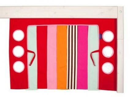 Spielvorhang Bettvorhang Hochbett Disco Flexa pink NEU & OVP 2521112