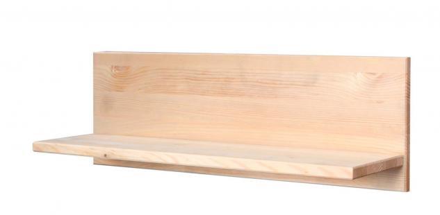 Regal Wandregal Wandpaneel Paneel natur Massivholz Kiefer UVP 24, 99€ 7100368