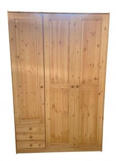 Kleiderschrank Schrank Holzschrank Holz Kiefer Schubladen Türen 2521796