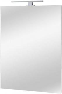 Spiegel Badspiegel Aufsatzleuchte LED 60cm 80cm UVP 199, 99€ 7100546