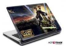 Laptop Notebook Netbook Skin Sticker Folie Schutz Aufkleber Clone Wars 10